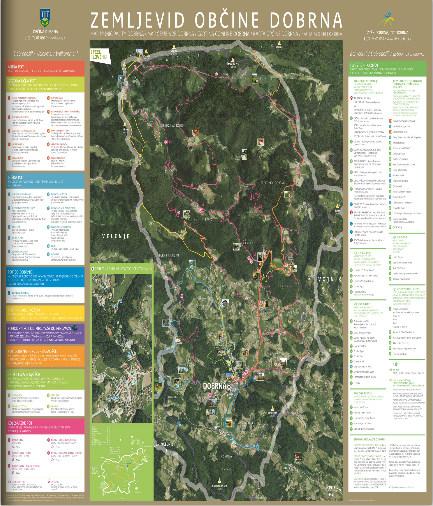 MAP MUNICIPALITY DOBRNA